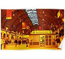 Grand Central Station Sydney Australia Poster