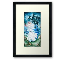 Crow Maiden Framed Print