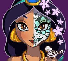 Sugar Skull Series: Arabian Princess by Ellador
