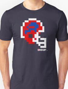 Tecmo Bowl - Buffalo Bills - 8-bit - Mini Helmet shirt T-Shirt