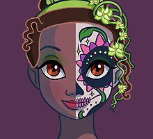 Sugar Skull Series: Frog Princess by Ellador