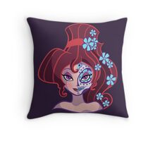 Sugar Skull Series: Little Nutmeg Throw Pillow