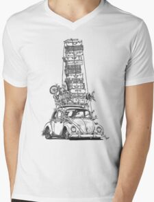 Stack Yo Rack Mens V-Neck T-Shirt