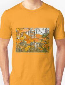 Maple Tree Autumn Foliage Unisex T-Shirt