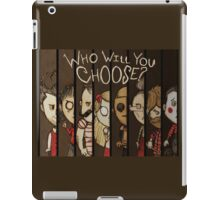 Don't Starve: Who Will You Choose? iPad Case/Skin