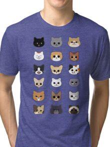 Happy Cats Tri-blend T-Shirt