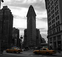 Taxis at Flatiron by MKPete