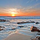 Sunrise on Coolum by Beth  Wode