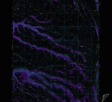 USGS Topo Map Oregon Mc Coy Ridge 280680 1968 24000 Inverted by wetdryvac