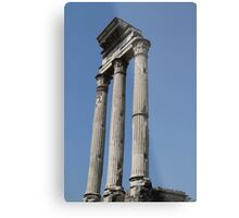 Pillars In The Forum Metal Print