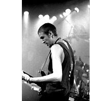 Bass Player Photographic Print