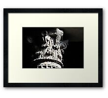 Corinthian Pillar Capital Framed Print