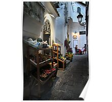 Shop Front - Amalfi Poster