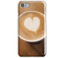 Pumpkin Spice Latte Coffee Art iPhone Case/Skin
