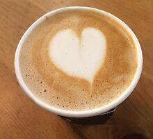 Pumpkin Spice Latte Coffee Art by Lagoldberg28