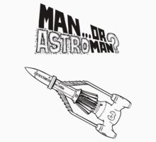 Man Or Astroman? (Thunderbird Rocket) by ixrid