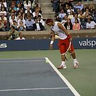 Tennis at Shea Stadium, NYC by RonnieGinnever
