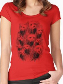 Screams of the Damned Women's Fitted Scoop T-Shirt