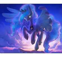 Princess Luna in the Sky Photographic Print