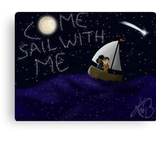 Come Sail With Me Canvas Print