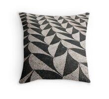 Mosaic Floor Throw Pillow