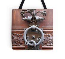 Ornate Handle Tote Bag