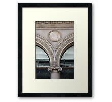 Glamour In Structure Framed Print