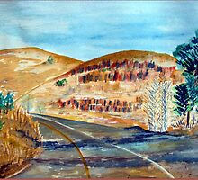 On our way from Lydenburg by Elizabeth Kendall