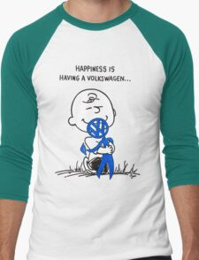 Happiness is ... Men's Baseball ¾ T-Shirt