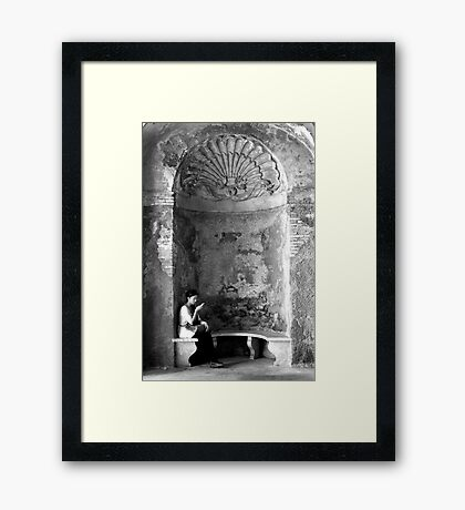 Ancient and Modern Framed Print