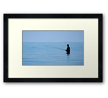 Sea Fishing Framed Print