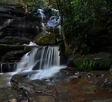 Wazza 1956 At Work - Somersby Falls by bazcelt
