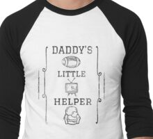 Daddy's Little Helper Men's Baseball ¾ T-Shirt