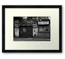 The Snug Framed Print