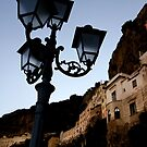 Amalfi Coast Street Light by Samantha Higgs