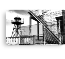 Inside : Alcatraz Canvas Print