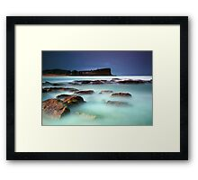 Avalon Headland Framed Print