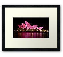 Sydney Vivid 2010 #2 Framed Print