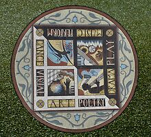 Mosaic in Lytham St Annes 2011. by albutross