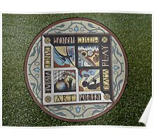 Mosaic in Lytham St Annes 2011. Poster