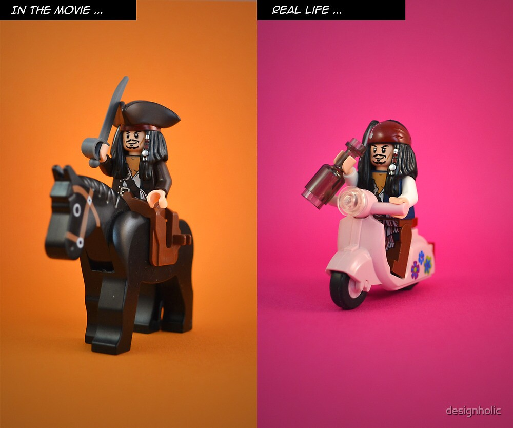 Jack Sparrow's double life by designholic