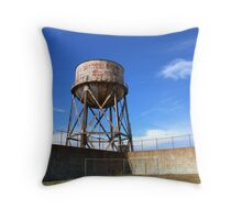 The Exercise Yard Throw Pillow
