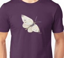 White Butterfly Unisex T-Shirt