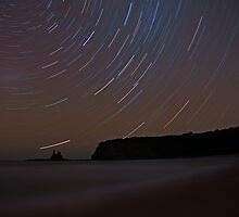 Star Trails Eagles Nest by Arthur Koole
