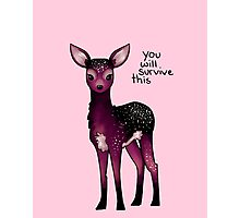 Galaxy Sparkle Fawn Photographic Print