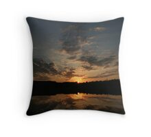 Arrowhead Park Sunset - Muskoka Throw Pillow