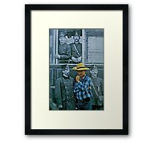 My Time travel to KRAKÓW  at  Austro-Hungarian Empire.  Anno Domini 1906 . by Brown Sugar . Featured ** Views (242) . Favorited by (4) Thanks !!! Framed Print
