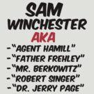 SUPERNATURAL AKA SAM WINCHESTER by thischarmingfan
