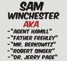 SUPERNATURAL AKA SAM WINCHESTER by thischarmingfan
