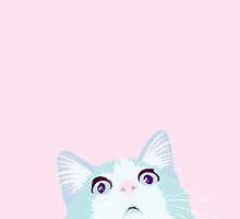Curious Cat by mogracee